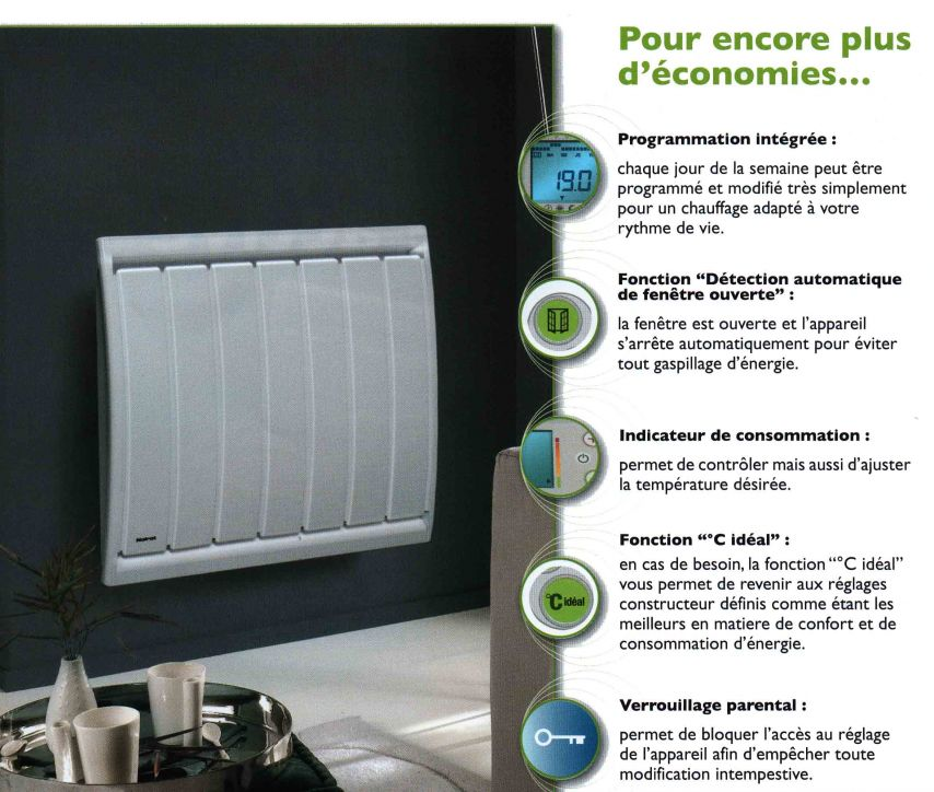 calidou le radiateur s che serviette lectrique noirot maison energy maison energy. Black Bedroom Furniture Sets. Home Design Ideas