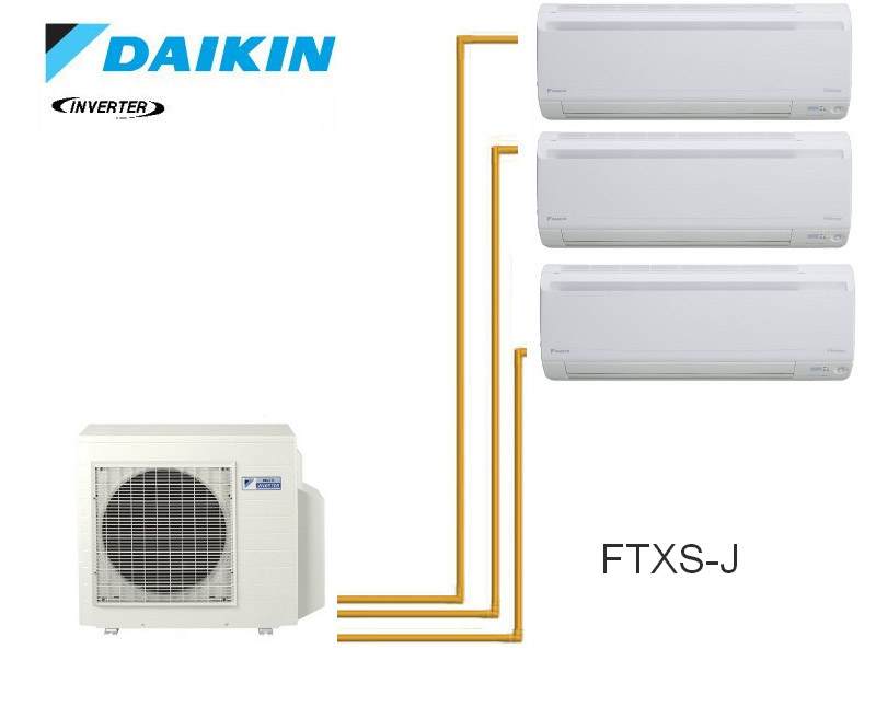 4mxs68f unit s emura tri split daikin de 6 8 8 6k watts. Black Bedroom Furniture Sets. Home Design Ideas