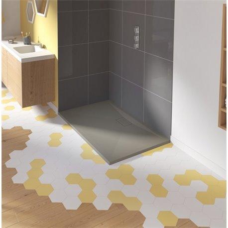 kinesurf gris b ton mat receveur kinedo de 80 180 cm. Black Bedroom Furniture Sets. Home Design Ideas